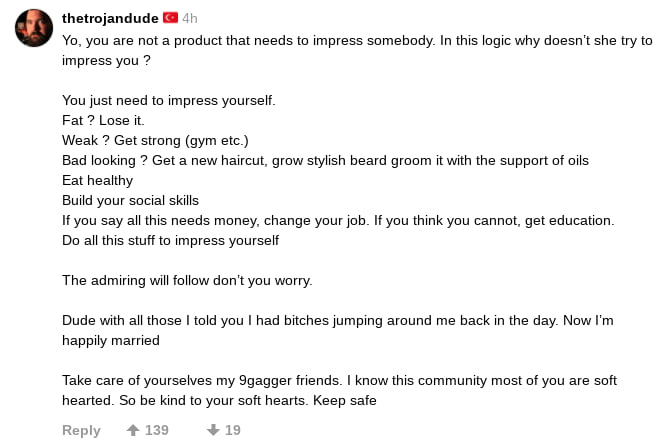 """Ihenojanaude I Ya, you are nm a orodumhm needsm Impress sumebudy In W: IugIc why doesnxsne """"on Impress you a     Yuu just need Io Impvess yourseII  FaI a Loss II  Weak a GeIsIrong (gym em)  Bad qukIng 6 em a new haIrcm. grow Slyhsh beard gmum mum me suooon oI oIIs Eat neaImy  BuIId yoursooIaI skIHs  II you say aH (ms needs muney. change your Inb II you thmk you cannm. geI educamn Do 3H m: 5qu m Impress yuurseIl  The admIrIng WIH IoIIow now you wurry  Dude m 3"""" moss I md you I had omes IumpIng around me back In me day Now I'm naooIIy mamed  Take cave onourseres my Sgaggerlnends I knew (ms oommume mosI oI you are so« heaned So be kInd (a yaw son heans Keep sale  row +.n 1p;"""