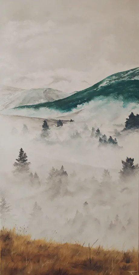 My newest painting, enjoy new background if you like if!