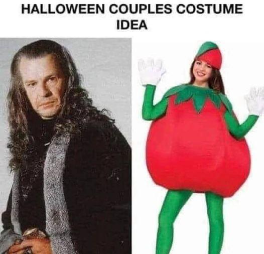 HALLOWEEN COUPLES COSTUME IDEA