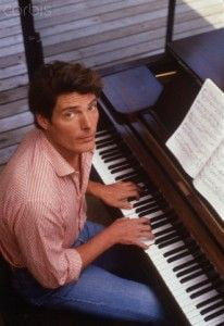 Christopher Reeve was a talented musician