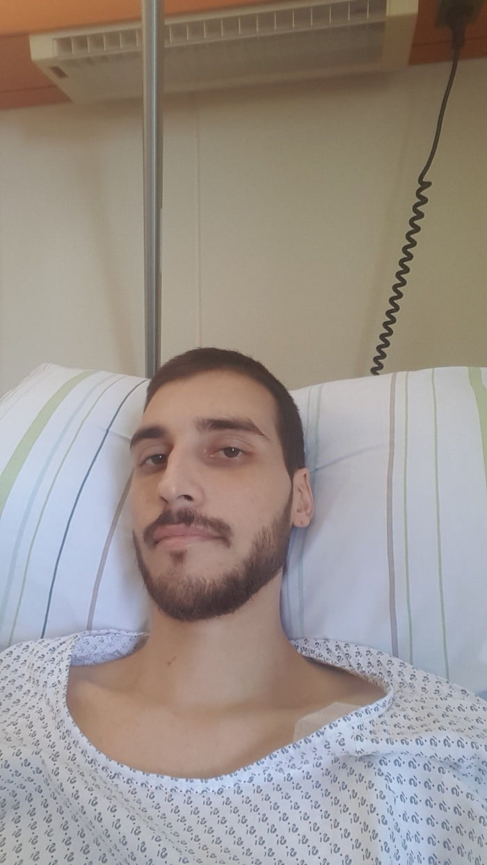 F**k cancer. Doc gave me less than a month. I'll miss you guys.