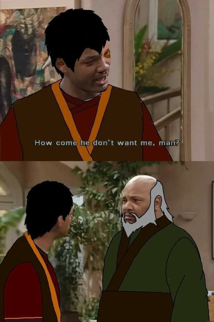 First things first - RIP uncle Phil, you'll always be remembered. Secondly, he pulls off iroh pretty awesomely.