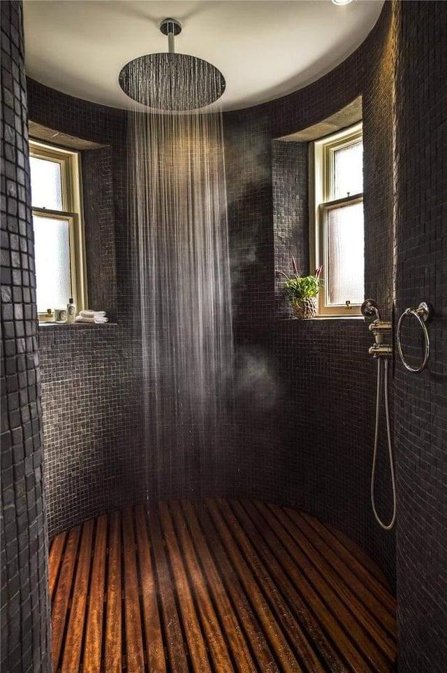 Imagine showering in this