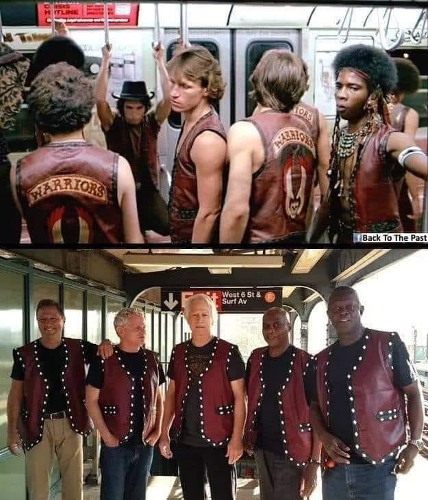 The warriors fresh out of prison