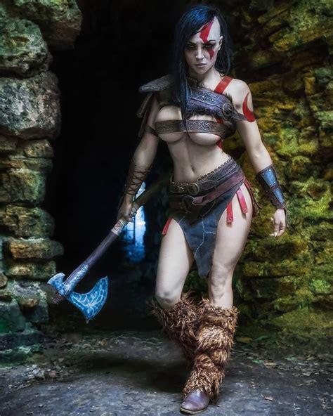 Female Kratos By OctoKuro. Last post for tonight haha