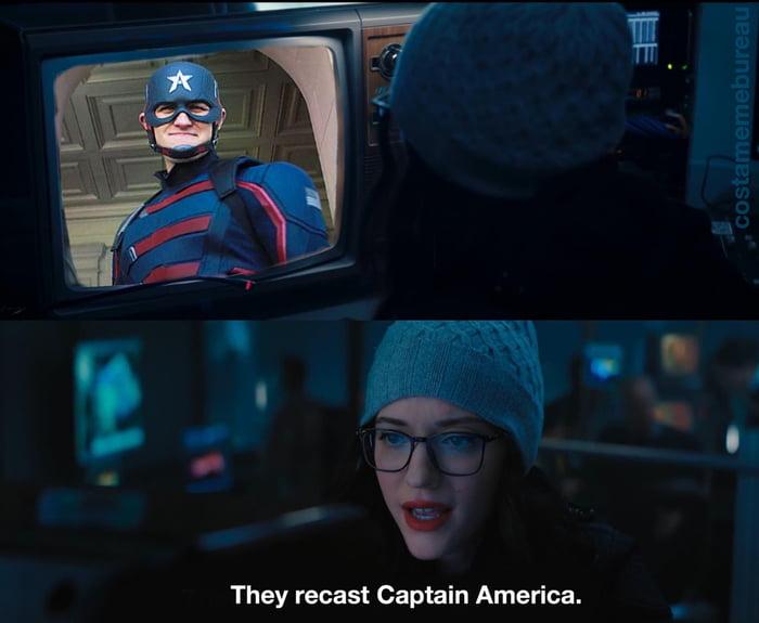 They recast Captain America.