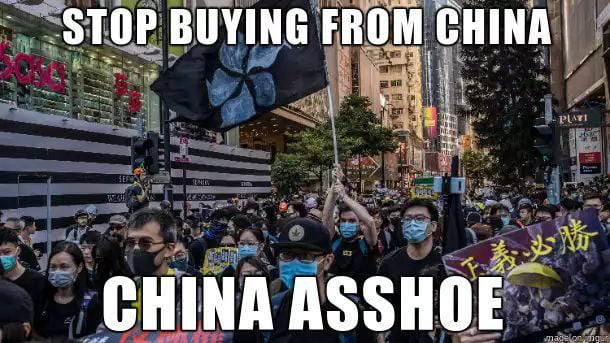 Stop buying shit made in China!