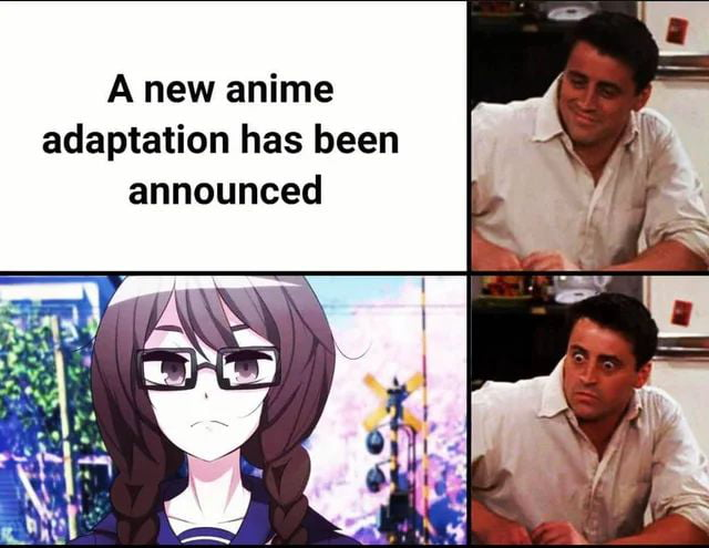 A new anime adaptation has been announced