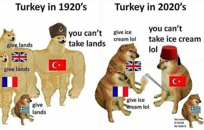 "Turkey in 1920's Turkey in 2020's  . H. ""you can 't E'Ve'"" you can t n 4  , w cmamlol takeice cream mgflm ,1 takelands  .f. m m J anV             gWezlands L? 'l WI :4: IL 37:""; l' u"", n' N W"" ""\>"