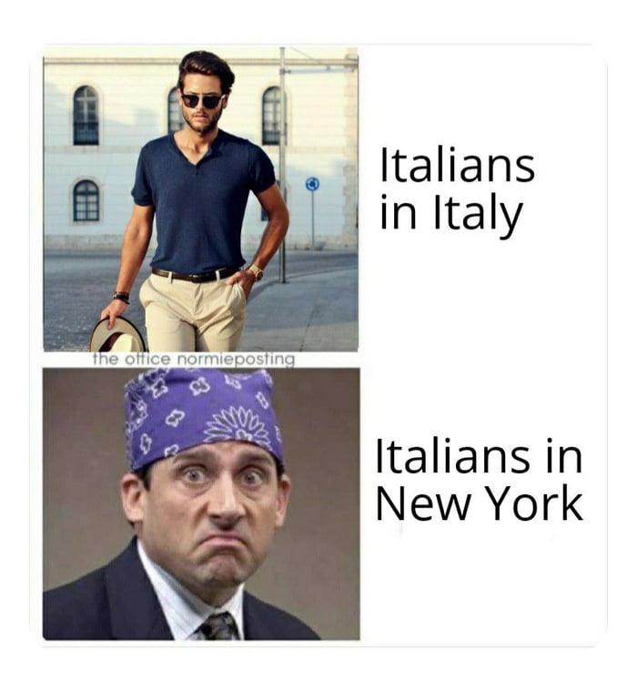 1 Italians -t in Italy  Kahansin New York