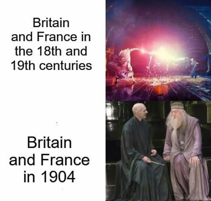 Britain and France in  the 18th and 19th centuries  Britain and France in 1904