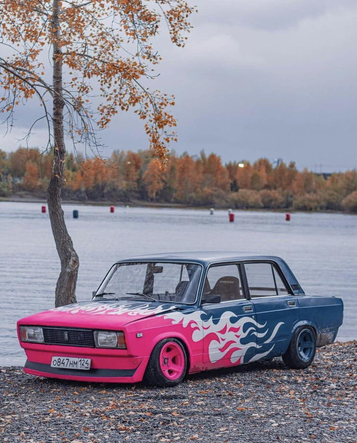 It's only Russia where you'd find a LADA like this