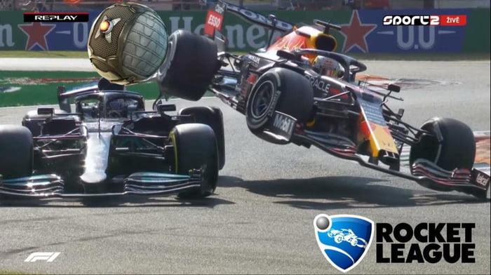 F1 2021 Rocket League Edition