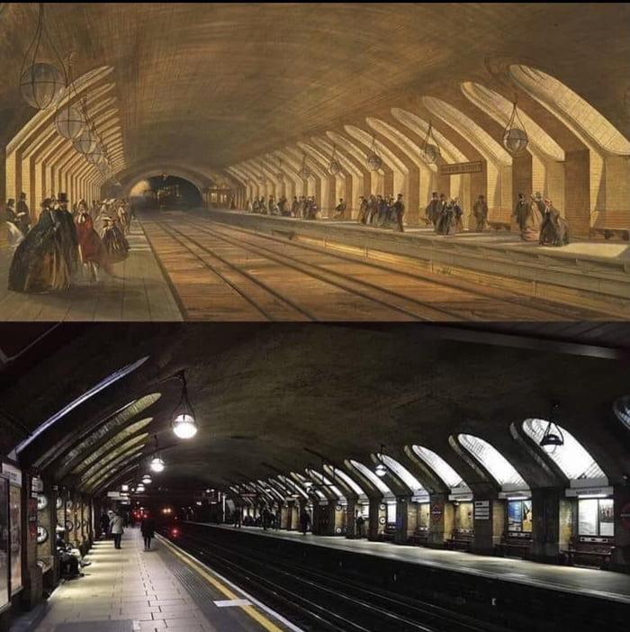 The worlds oldest underground in Baker Street 157 years apart