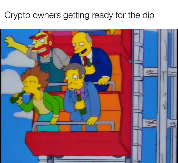 Crypto owners getting ready for the dip