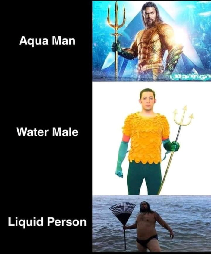 Aqua Man  Water Male