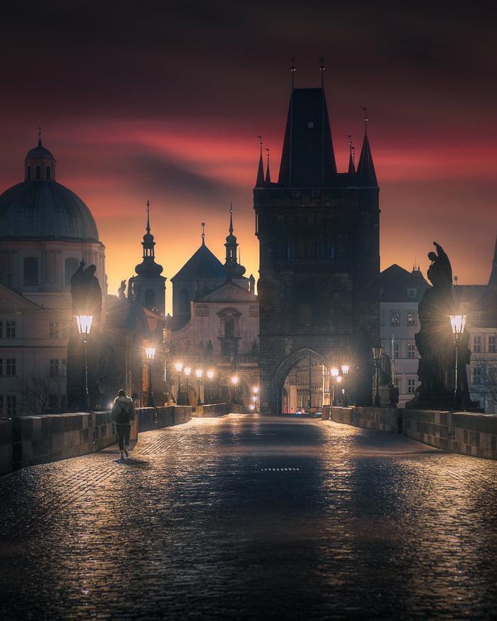 Prague is just beautiful