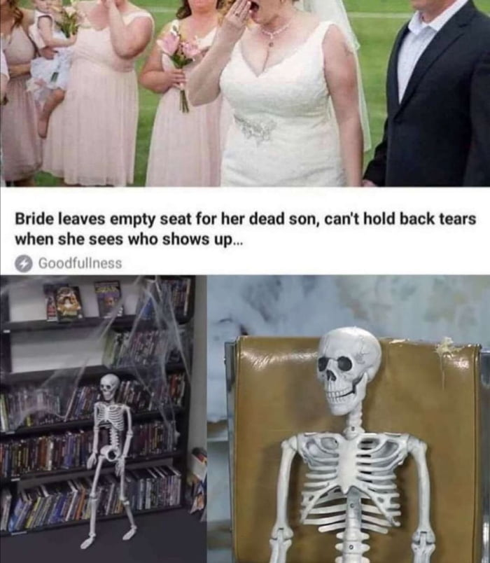 """Bride leaves empty seat for her dead son, can't hold back tears when she sees who shows up...  1"""") '"""