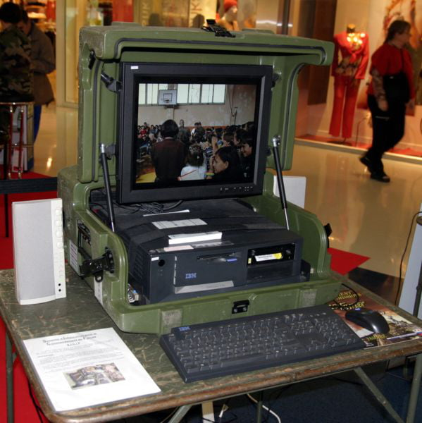 Portable Military IBM PC Build from Old Era