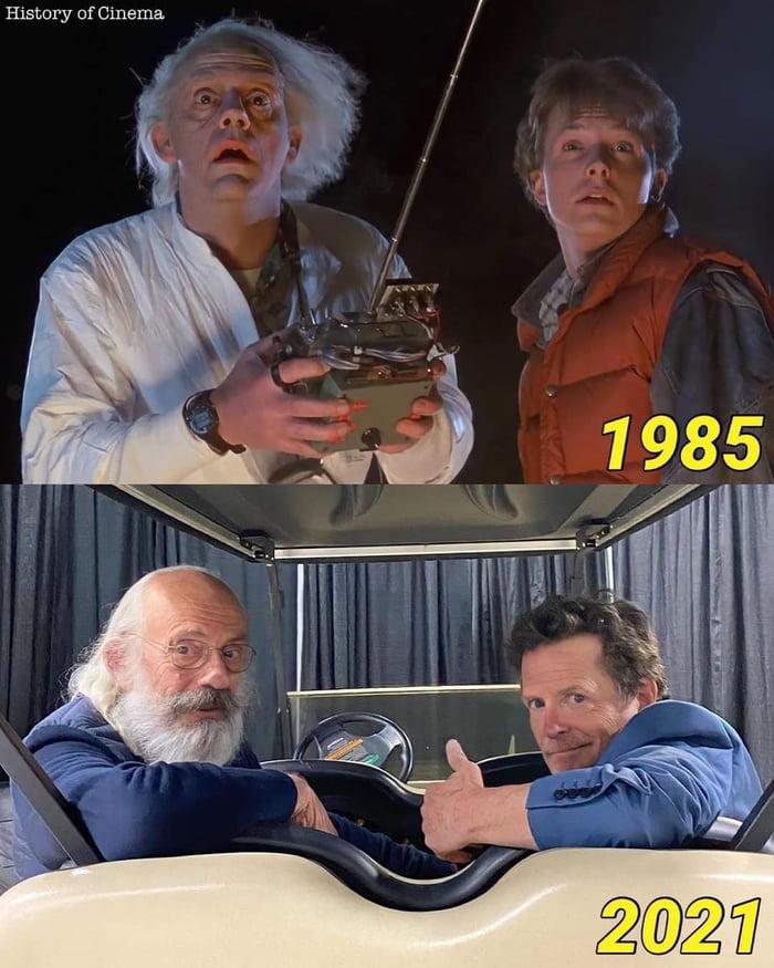 Doc hasn't aged a bit
