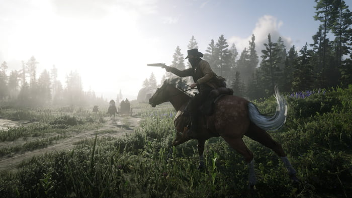 Been doing cowboy stuff all day (first time playing RDR2) love it