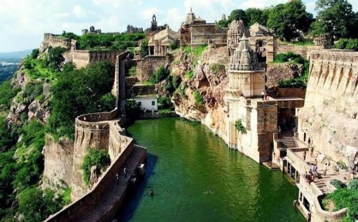 The Chittorgarh Fort, India