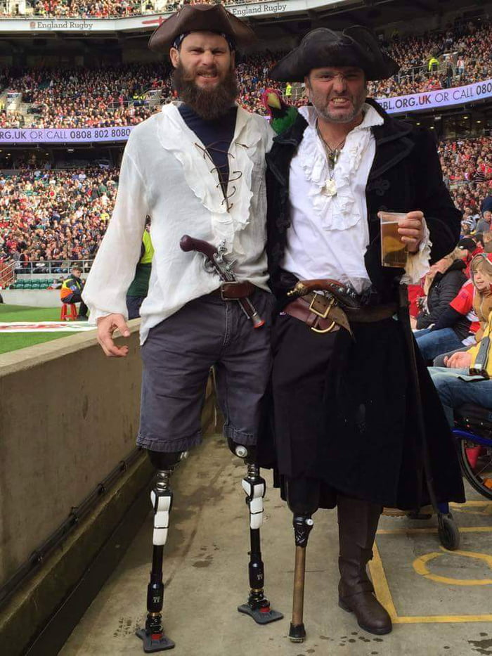 Couple of spectators at the Army V Navy rugby match at Twickenham