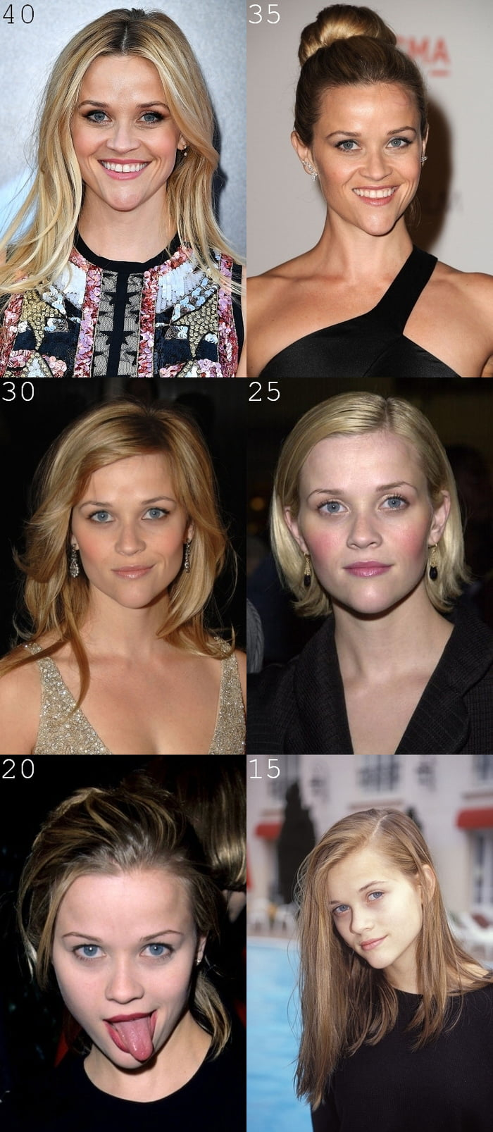 Reese Witherspoon, 45 years old today