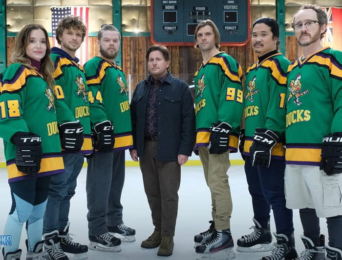 The Mighty Ducks reunited