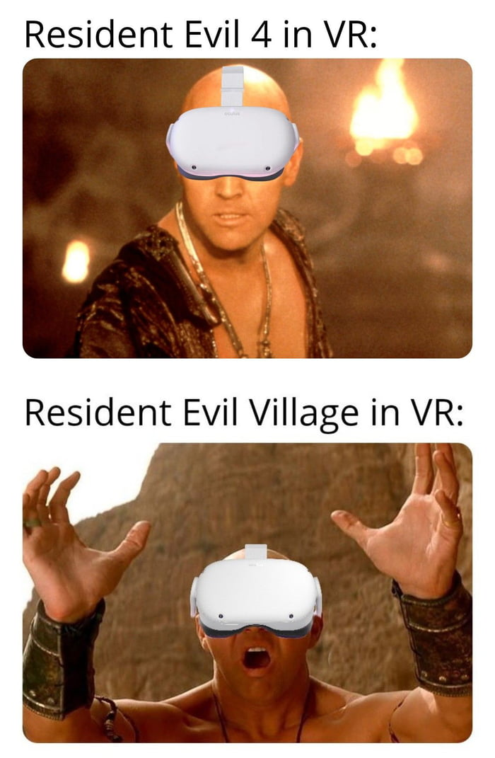 Resident Evil 4 in VR: