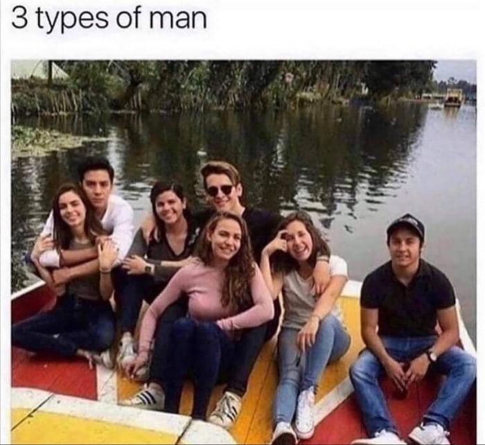 3 types of man