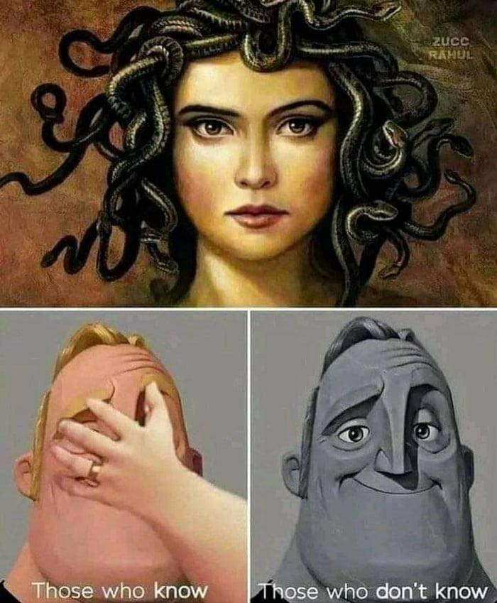 Medusa can make you hard.