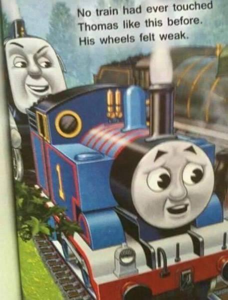 ' Nn main had (Nor touche- Thumae'. like this behave. His wheels Ian weak.