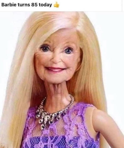 Barbie turns 85 today ,