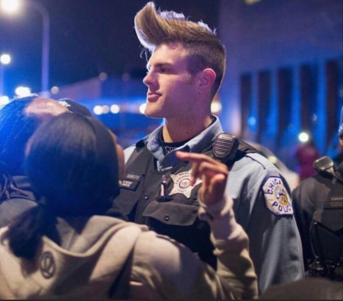 Chad-Cop defender of the people stealer of girlfriends