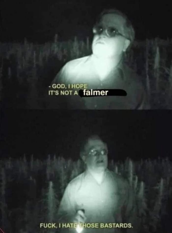 - com A - IT'S NOT A falmer  FUCK.   HA 03E BASTARDS.