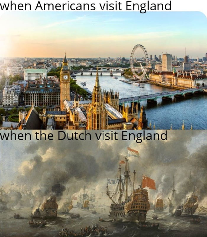 hen Americans visit England